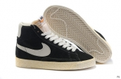Nike Blazer High Black White
