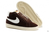 Nike Blazer High Brown White
