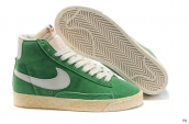 Nike Blazer High Green White