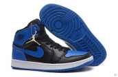 Perfect Air Jordan 1 Blue Black 170