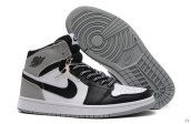 Perfect Air Jordan 1 Grey White Black 170