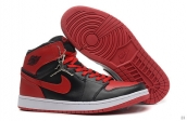 Perfect Air Jordan 1 Red Black 170