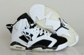 Perfect Air Jordan 6 Oreo White Black 170