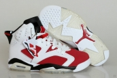Perfect Air Jordan 6 White Carminum Black 170