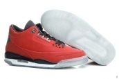 Perfect Air Jordan 3 5LAB3 Red Black White