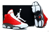 AAA Air Jordan 13 Rockets PE White Red Black
