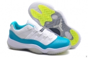 Perfect Women Air Jordan 11 Low Aqua 200
