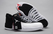 AAA Air Jordan 12 Low Black White
