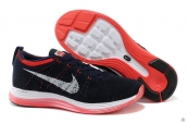 Nike Flyknit Lunar One Navy Blue Red White