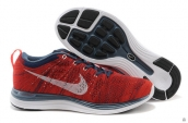Nike Flyknit Lunar One Red Blue White