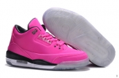 Perfect Women Air Jordan 3 5Lab3 Pink Black Reflective