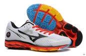 Mizuno Wave Rider 17 White Black Orange