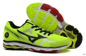 Mizuno Wave Rider 17 Fluorescent Green Black