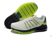 Air Max 2015 AAA White Black Fluorescent Green