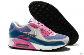 Air Max 90 Prm Tape Women Grey Pink Blue Silvery