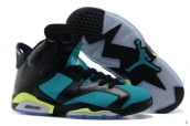 Perfect Air Jordan 6 Women World Cup Black Green 200