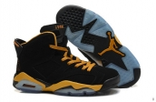 AAA Air Jordan 6 Black Golden
