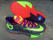 Nike KD VI Grey Green Purple Red
