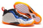 Nike Air Foamposite One White Orange Blue Black