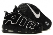 AAA Air More Uptempo Black White