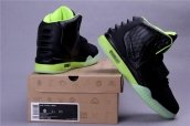 Nike Air Yeezy II Black Green