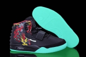 Nike Air Yeezy II Givenchy Mache Customs Black