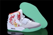 Nike Air Yeezy II Givenchy Mache Customs White