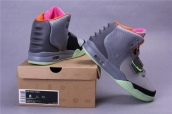 Nike Air Yeezy II Grey Pink Black