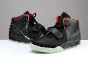Nike Air Yeezy II South Beach Black Red