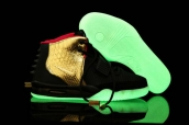 AAA Air Yeezy II Black Gold Red