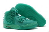 Perfect 2014 Nike Air Yeezy II Women Green Lantern Glow In Dark 180