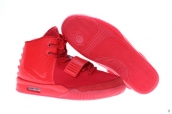 Prefect Women 2014 Nike Air Yeezy 2 Red October Glow In Dark