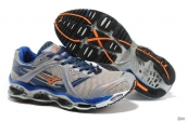 Mizuno Wave Prophecy Mens Grey Blue