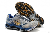 Mizuno Wave Prophecy Grey Blue Yellow