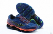 Mizuno Wave Prophecy III Women Blue Orange