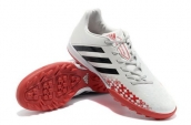 Adidas Predator LZ TRX TF Boots White Black Red