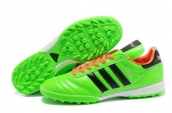 Adidas Copa Mundial Firm Ground TF Soccer Shoes Green Black Orange