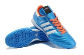 Adidas Copa Mundial Firm Ground TF Soccer Shoes Light Blue White Orange