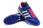 Adidas Copa Mundial Firm Ground TF Soccer Shoes Navy Blue White Pink