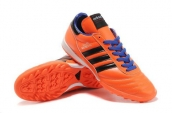 Adidas Copa Mundial Firm Ground TF Soccer Shoes Orange Black Blue