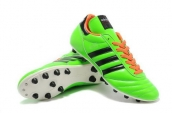 Adidas Copa Mundial Firm Ground TPU Soccer Shoes Green Black Orange
