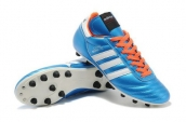 Adidas Copa Mundial Firm Ground TPU Soccer Shoes Light Blue White Orange