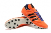 Adidas Copa Mundial Firm Ground TPU Soccer Shoes Orange Black Blue