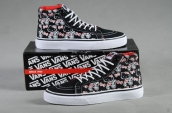 Women High Vans X Hello Kitty Black