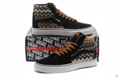 Women Vans High Down Vintage Style