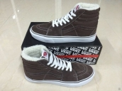 Women Vans High CL SK8 Down Brown