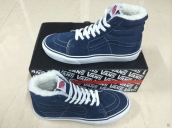 Women Vans High CL SK8 Down Navy Blue