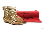 Christian Louboutin Flats Golden