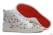 Christian Louboutin High Rivets White