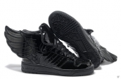 AAA Adidas Jeremy Scott Wings Leather Black